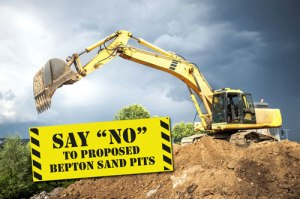 Say no to Midhurst The Severals Bepton Sand Pits Excavation