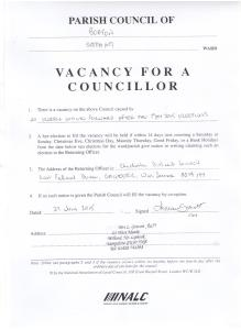 BPC Casual Vacancy